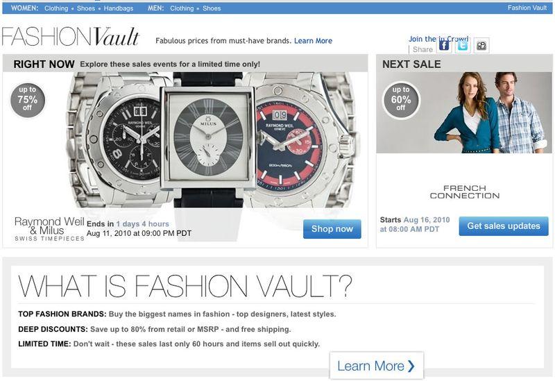 Fashion Vault