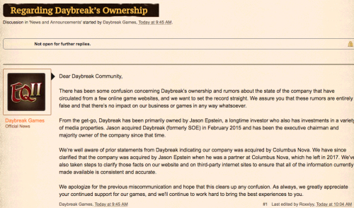 Daybreak Ownership