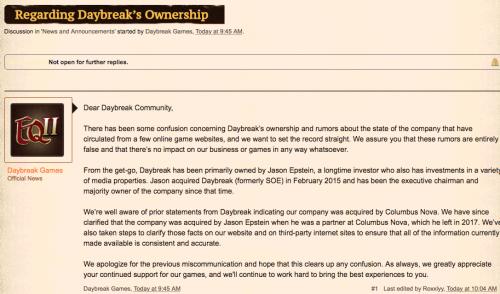 Daybreak Ownership